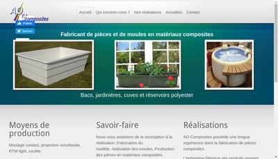 Site internet de Ao Composites