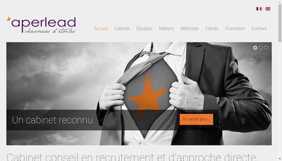 Site internet de Aperlead