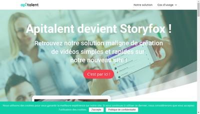 Site internet de Apitalent