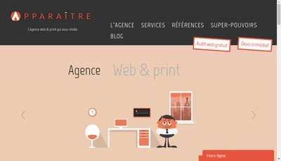 Site internet de Apparaitre