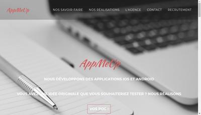 Site internet de AppMeUp