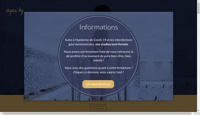 Site internet de Aqua By