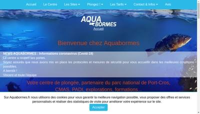 Site internet de Aquabormes