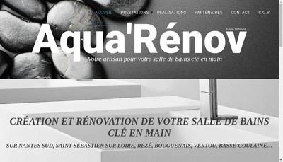 Site internet de Aqua'Renov