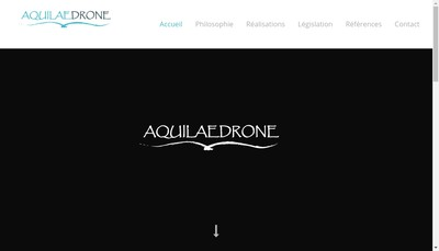 Site internet de Aquilaedrone