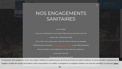 Site internet de Hotel Arboisie SAS