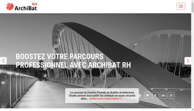 Site internet de Archibat