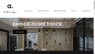 Site internet de Archimage