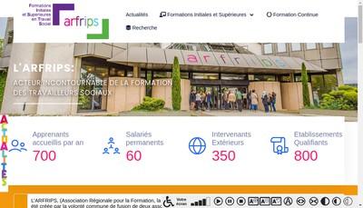 Site internet de Arfrips