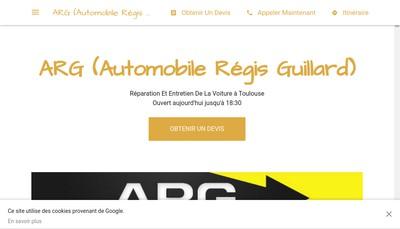 Site internet de ARG (Automobiles Regis Guillard)