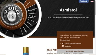 Site internet de Armistol Sapo