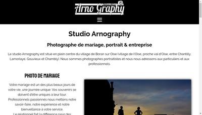 Site internet de Arnography