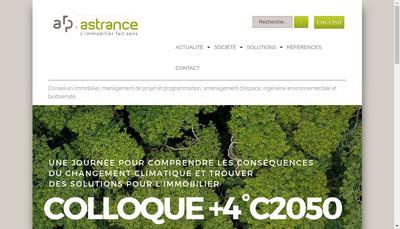 Site internet de ASTRANCE
