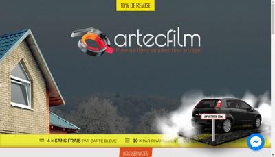 Site internet de Artecfilm