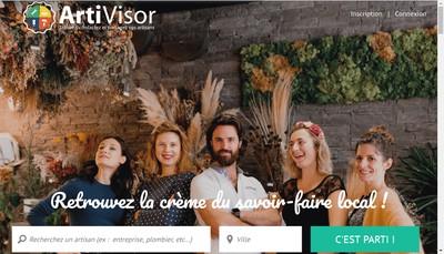 Site internet de Artivisor