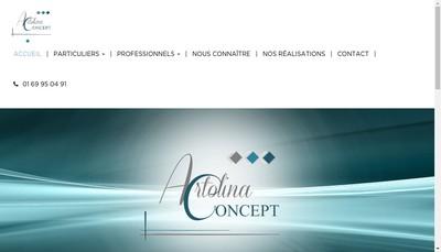 Site internet de Artolina Concept