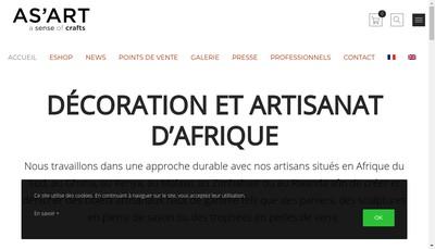 Site internet de As'Art