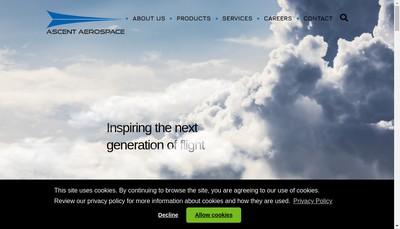Site internet de Ascent Integration