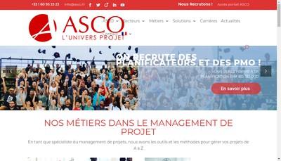 Site internet de Asco Si