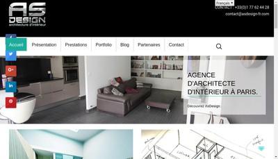 Site internet de Asdesign