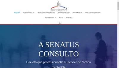 Site internet de A Senatus Consulto