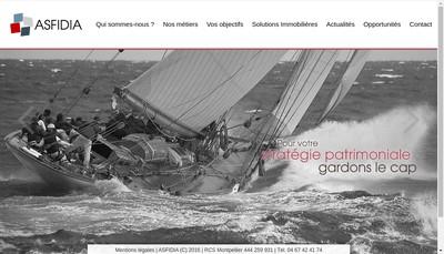 Site internet de Asfidia