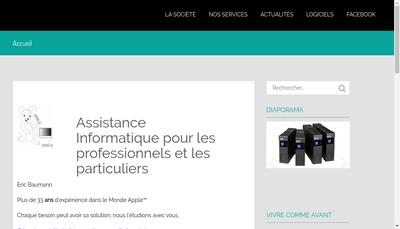 Site internet de Assist-Eric