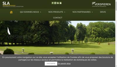 Site internet de Sla