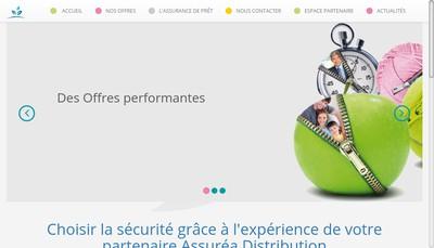 Site internet de Assurea Distribution