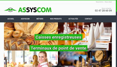 Site internet de Bureau Service 37