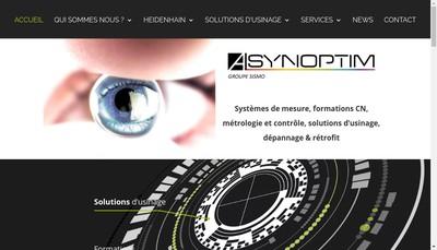 Site internet de A Synoptim SARL