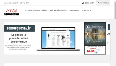 Site internet de Remorque Atas Distribution ( ), Bigfic, Biglois, Biglois France