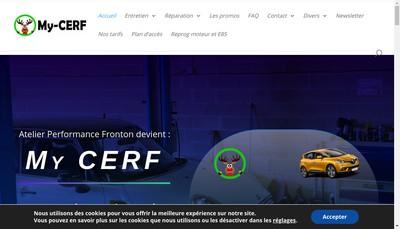 Site internet de Atelier-Performance