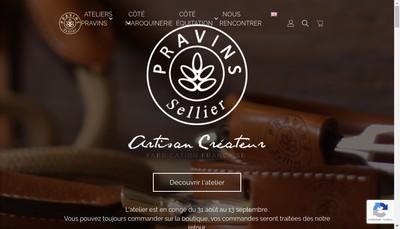 Site internet de Atelier de Pravins