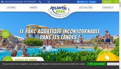 Site internet de Atlantic Park
