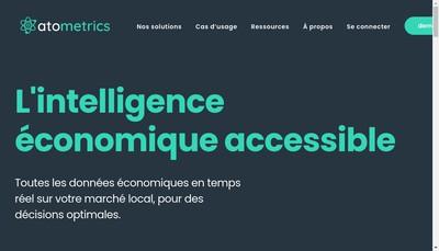 Site internet de Atometrics, Atometrix