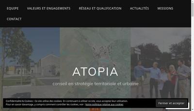 Site internet de Atopia