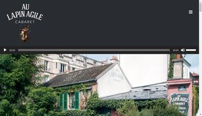 Site internet de Au Lapin Agile