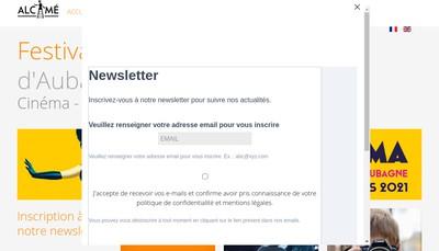 Site internet de Association Alcime