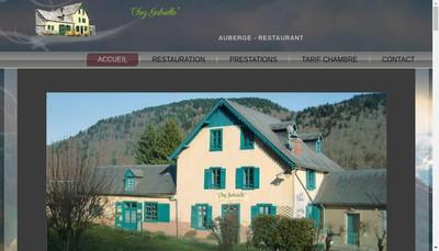 Site internet de Auberge Gabrielle