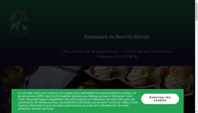 Site internet de Au Bout du Monde