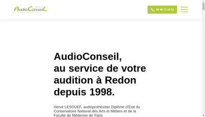 Site internet de Audioconseil