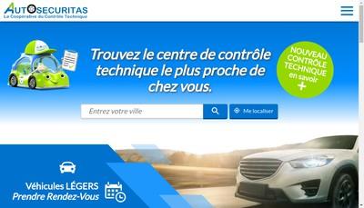 Site internet de Autosecuritas Autosecuriplus