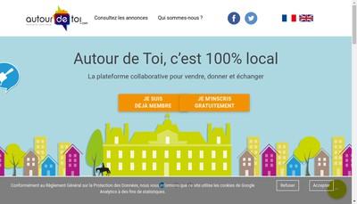 Site internet de Autour de Toi