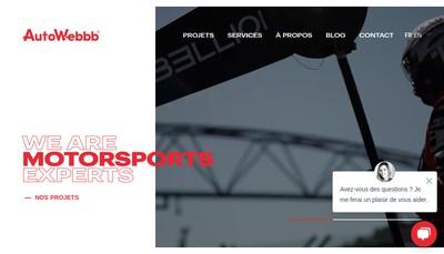 Site internet de AUTOWEBBB