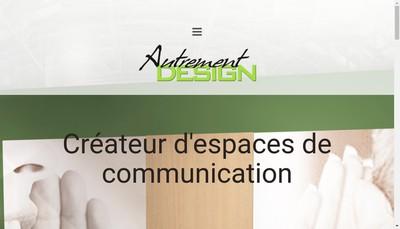 Site internet de Autrement Design