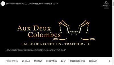 Site internet de Aux Deux Colombes