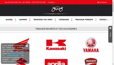 Site internet de Avdb Moto