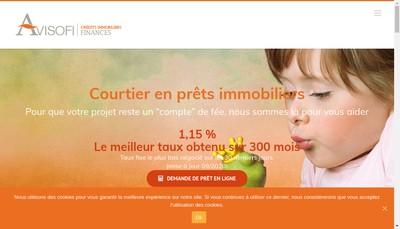 Site internet de Avisofi