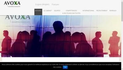 Site internet de Avoxa
